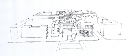 street court ed sketch