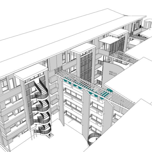 14109-Melrose Estate erf36 Option 02 09 May 20 SITE PLAN - Drawing Sheet - 0501 - 3D View