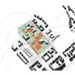 Mixed use node layout plan