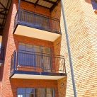 Cantilevered precast balconies
